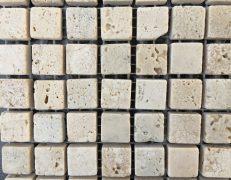 Mosaico travertino chiaro