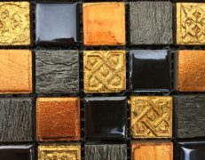 Mosaico orange fantasy