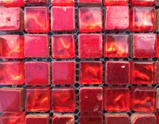 Mosaico rosso crystal
