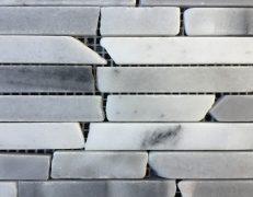 Mosaico tetris grigio