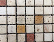 Mosaico travertino fantasy