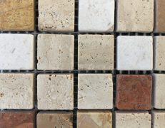 Mosaico Verona travertino